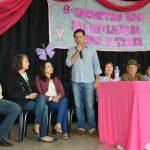 Presidente do Sindicato Rural de Lages, Marcio Pamplona se pronunciou durante o evento (Crédito: Assessoria de Imprensa/Associação Rural de Lages)