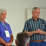 O presidente do Sindicato Rural de Chapecó Ricardo Lunardi e o secretário José Araújo participaram da reunião
