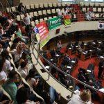 Sessão ordinária do dia da aprovação do PLC 13/2017 (Foto: Solon Soares/Agência AL)