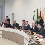 Ministro interino esteve em São Miguel do Oeste e Chapecó