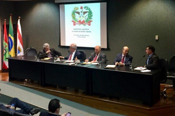 A crise do alho foi debatida na Comissão de Agricultura e Política Rural da Assembleia Legislativa, presidida pelo deputado Natalino Lázare
