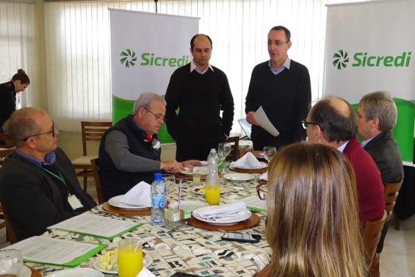 Lançamento do Plano Safra do Sicredi em Florianópolis (SC)