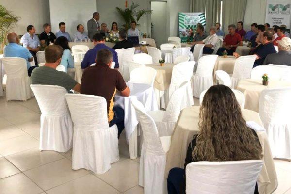 Reinauguração contou com a presença de líderes rurais